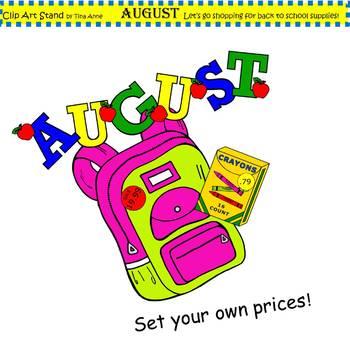 Clip Art August