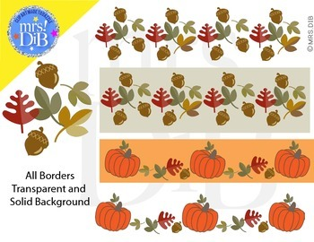 Clip Art - Autumn-ORIGINAL ARTWORK