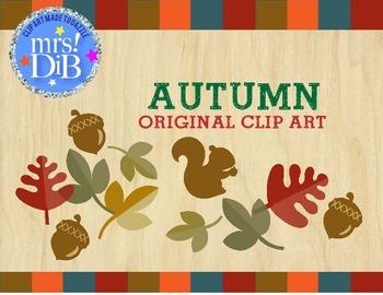 Clip Art - Autumn-ORIGINAL ARTWORK