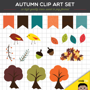 Clip Art: Autumn Set