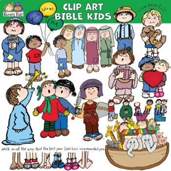 Clip Art BIBLE KIDS