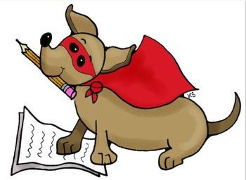 Clip Art: Back to School Dachshund Dogs by HeatherSArtwork