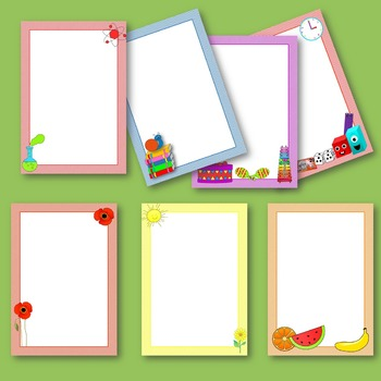 Clip Art Backgrounds and Frames