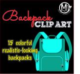 Clip Art - Backpacks