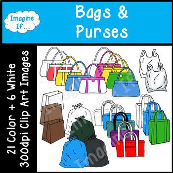 Clip Art-Bags and Purses