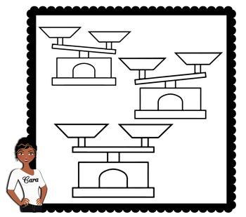 Clip Art~ Balance Scales