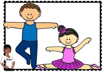Clip Art~ Ballerina Dancers
