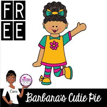 Clip Art~ Barbara's Cutie Pie