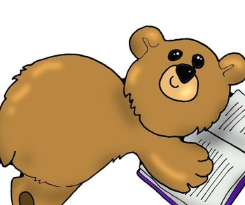 Clip Art: Bears and Books