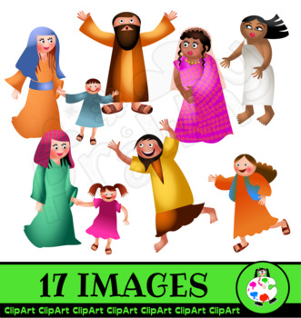 ClipArt Bible People