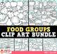 Food Clip Art Bundle { Food Groups Clipart }