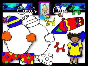 Clip Art~ Big Top Circus Fun