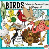 Clip Art: Bird Characteristics