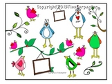 Clip Art: Birds Brighten Your Day