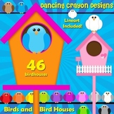 Bird Clip Art and Bird Houses