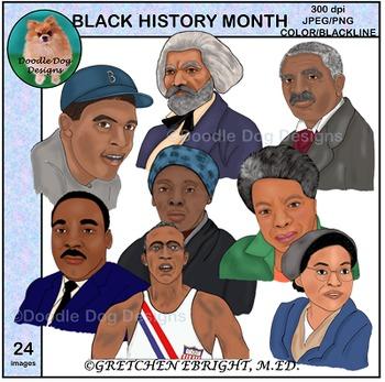 Clip Art: Black History Month