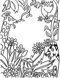 Clip Art, Black & White Fun Activity, Drawing, Sub Plans,Art