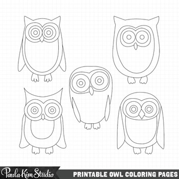 photograph relating to Printable Owls named Printable Owl Coloring Internet pages