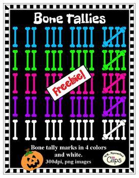 Clip Art - Bone Tallies