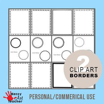 Clip Art Borders Set 2