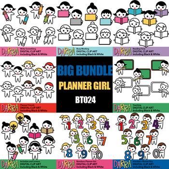 Clip Art Bundle School Activities / Planner clipart bundle Vol. 2