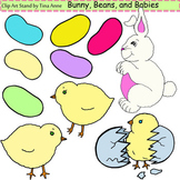 Clip Art Bunny, Beans, and Babies