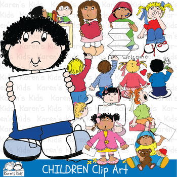 Clip Art CHILDREN