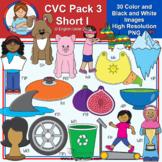 Clip Art - CVC Pack 3 - Short I