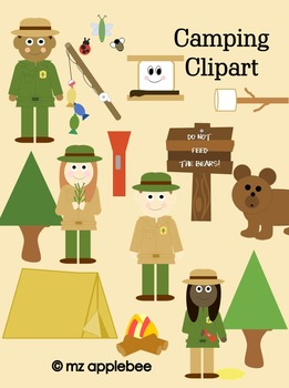 Clip Art: Camping