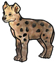 Clip Art  Carnivores of the African Savanna