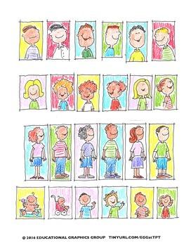 Clip Art Cartoons FREEBIE