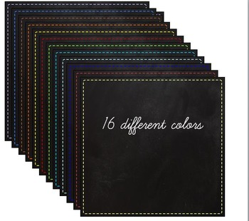 Clip Art Chalkboard squares background labels Clipart - commercial license