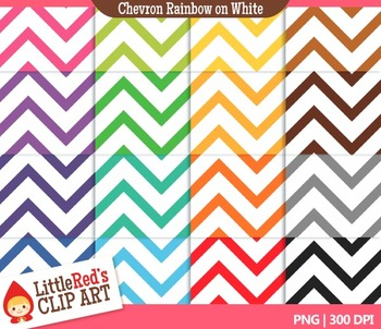 Chevron Backgrounds - 16 Digital Papers