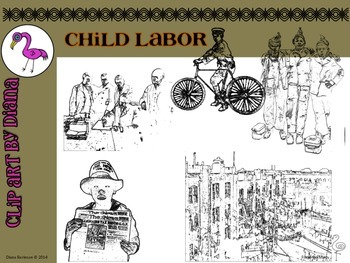 Clip Art - Child Labor