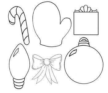 Clip Art~ Christmas Basics