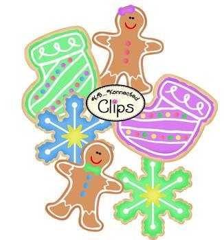 Clip Art - Christmas Cookies!