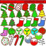 Clip Art Christmas Cookies