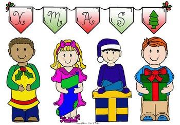 Clip Art~ Christmas Cuties