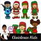 Clip Art~ Christmas Kids