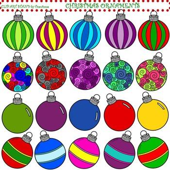 Clip Art Christmas Ornaments