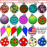 Clip Art Christmas Ornaments
