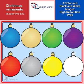 Clip Art - Christmas Ornaments