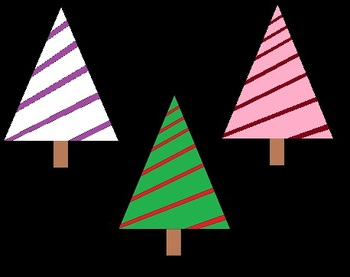 Clip Art: Christmas Trees