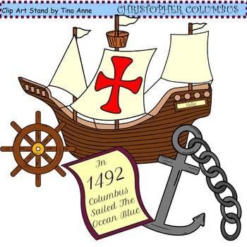 Clip Art Christopher Columbus Combo By Clip Art Stand By Tina Anne