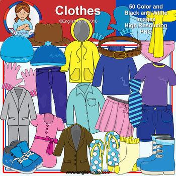 Clip Art - Clothes Bundle