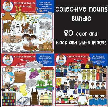 Clip Art - Collective Nouns Bundle