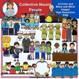 Clip Art - Collective Nouns - People
