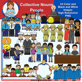 Clip Art - Collective Nouns - People