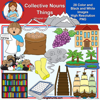 Clip Art - Collective Nouns - Things