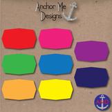 Color Me Happy Clip Art Colorful Frames